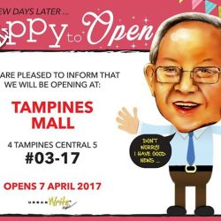 [URBANWRITE] 5 days since we closed down at Tampines 1 and we are already missing our standalone store.