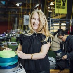 [Timbuk2 Singapore] Timbuk2 CEO, Patti Cazzato, has always been driven to make a positive environmental impact through her work at Timbuk2 and