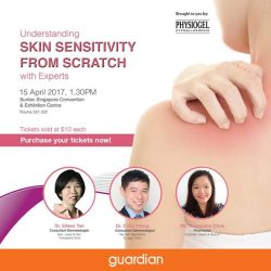 [Guardian] Gain valuable knowledge on managing dry, irritated, sensitive skin from Physiogel's 'Understanding Skin Sensitivity from Scratch with Experts' workshop.