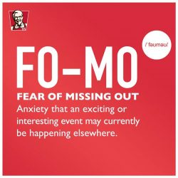 [KFC Singapore] Fear of missing out?