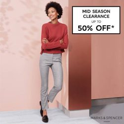 [Marks & Spencer] Ladies and gentlemen, this is your last chance to get in on the Marks and Spencer Mid Season Clearance sale!