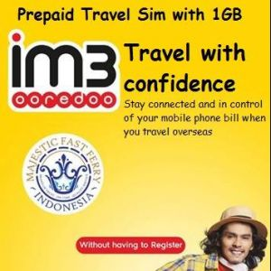 [MAJESTIC FAST FERRY] Stay connected when you travel with our 1GB Sim Card promotion!