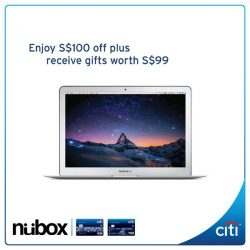 [Citibank ATM] Have you been eyeing the MacBook Air?