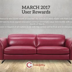[Ariston] Win A New Sofa Set This March!