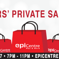 [EpiLife] Join us at our Epitude MEMBERS' ONLY Sale Event!