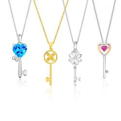[CITIGEMS] Unlock the secrets to everlasting love and friendship with our beautiful key designs!