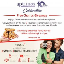 [All Watches / Aptimos] Come join us as we celebrate our 10th Anniversary with some sweet treats giveaway.