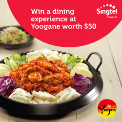 [Yoogane] Be one of the lucky 400 to win a Korean Dining Experience for 2 at Yoogane (worth $50).