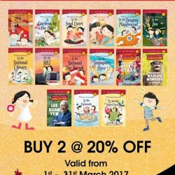 [MPH] Timmy & Tammy Singapore Adventures Collection20% off with purchase of 2 or more titlesPromotion valid from 1 - 31 March