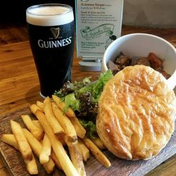 [Erwin's Gastrobar] A refreshing pint of Guinness is now available for just $15++ and it's all day long!