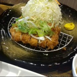 [TONKATSU BY MA MAISON] Today's Daily Lunch at Tonkatsu Bistro Ma Maison at WestgateTonkatsu with Negi Shio SauceSoup, Mini Salad, Daily