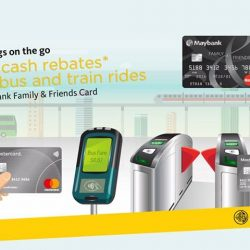 [Maybank ATM] Now you can tap and pay for your bus and train rides with Maybank MasterCard Cards!