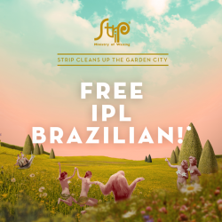 [Strip & Browhaus] We're ONE day away from our LAST Free IPL Brazilian Day at Strip!