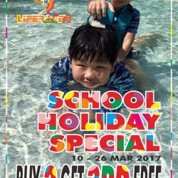 [Liferacer] CHOOL HOLIDAY SPECIAL, BUY 2 GET 3RD **FREE!
