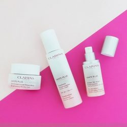 [Clarins] We're experiencing brighter days with NEW White Plus regimen!