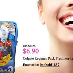 [Pink Beauty] If you want fresh breath and healthy teeth, use Colgate Regimen Pack Freshness set.