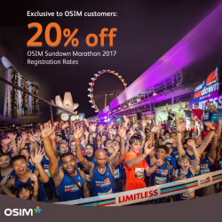 [OSIM] There's just slightly more than 2 weeks before registration closes for the OSIM Sundown Marathon 2017!