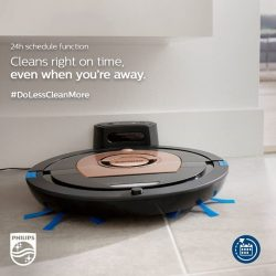 [Philips] Step into a spotless home every day with the Philips SmartPro Compact Robot vacuum cleaner.