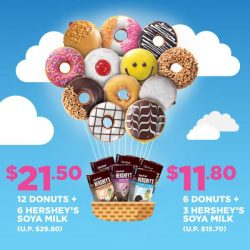 [Dunkin' Donuts Singapore] It's double the joy with soy!
