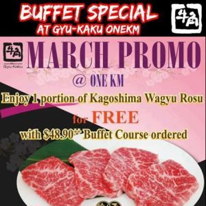 [Gyu-Kaku] Great for your Friday dinner or weekend lunch☆☆ Super Gyu-Kaku Buffet Promotion is available!