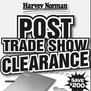 [Harvey Norman] Harvey Norman is SLASHING prices to BURN our stock levels out!