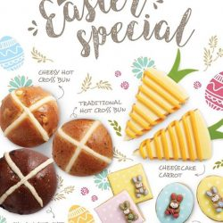 [Swissbake] Get egg-cited with these soft and fluffy Easter hot-cross buns & sweet-tasting cookies!