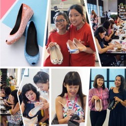 [Melissa] In celebration of International Women's Day, we partnered with @Messymsxi and Care Singapore to host DIY workshops to spread
