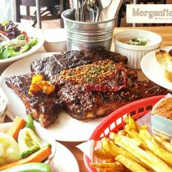 [Morganfield's] Free Flow Sticky Bones?