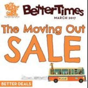 [The Better Toy Store] Yep, it's true: 8th April will be our last day at Parkway Parade, which means the Moving Out Sale