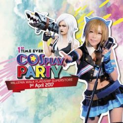 [Harvey Norman] Meet Hong Kong Cosplayer Siutao at HarveyNormanSG's 1st Ever Cosplay Party!