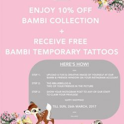 [LeSportsac] LeSportsac x Bambi Collection is here!