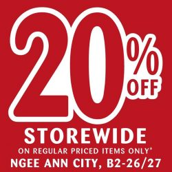 [Candylicious] Visit our Biggest Sale happening at Ngee Ann City now!