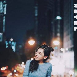 [Jack Wills] City of lights ✨ Jude Tsang gazes out in our classic Tinsbury jumper.