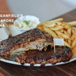 [Morganfield's] Find out how our new menu fares with Felicia!