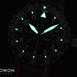 [Gnomon Watches] The watch is powered by the tried and tested ETA2836-2 which is fine tuned and tested by Damasko to