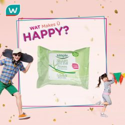 [Watsons Singapore] Every fortnight from 2 Mar – 29 Mar, lookout for our What Makes Ü HAPPY?