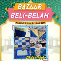 [Encik Tan] It's just 6 days before Bazaar Beli-Belah begins at West Mall Atrium!