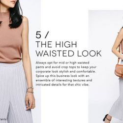 [Love, Bonito] Whether the dress code at your place of work is strict or relaxed, there is a certain level of refinement