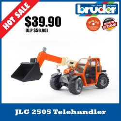 [The Collector] School Holiday Promotion @ The Collector Bruder 02140 JLG 2505 TelehandlerThe JLG telescopic loader is a true all-rounder.