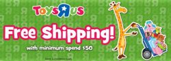 [Babies'R'Us] PSA: Free shipping from 11 - 19 March 17!