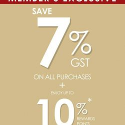 [Bee Cheng Hiang Singapore] SAVE ON YOUR GST!
