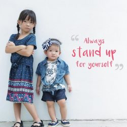 [Fox Fashion Singapore] When the little ones can dish out advice like this, you know the kids are all right.