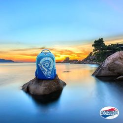 [American Tourister] If your ideal escapade is a romantic time on a quiet beach, pop over to Hon Chong Cape, Vietnam and