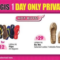 [BHG Singapore] Get your new kicks at BHG Bugis 1 Day Only Private Sale happening NOW till 11pm!