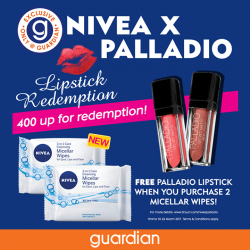 [Guardian] Infused with Micellar water and Vitamin E, the all-new NIVEA Micellar Wipes effectively removes grime and makeup in a