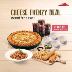 [Pizza Hut Singapore] Meet your CrustCrush at Pizza Hut today!