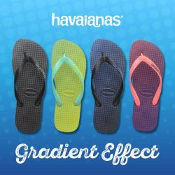 [Common Thread Singapore] Get these brand new Gradient Havaianas in stores now!