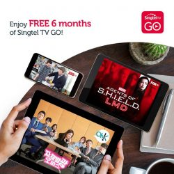 [Singtel] Take your favourite entertainment with you wherever you go, on your mobile devices!