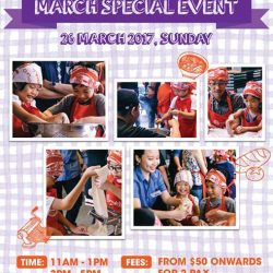 [Ippudo Express] Dear Customers,We will hold Child Kitchen Event on 26th March, Sunday in Singapore.