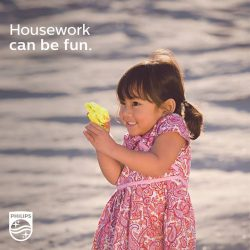 [Philips] Turn everyday household chores into playtime for your kids!